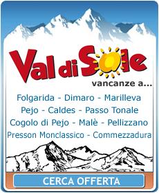 Hotel Val di Sole, Alberghi Val di Sole, Offerte Val di Sole, Settimana Bianca Val di Sole