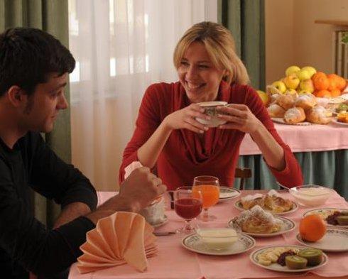 Hotel Pejo - Sala colazione