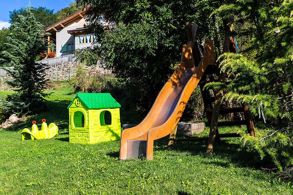 Albergo Salvadori - Area giochi
