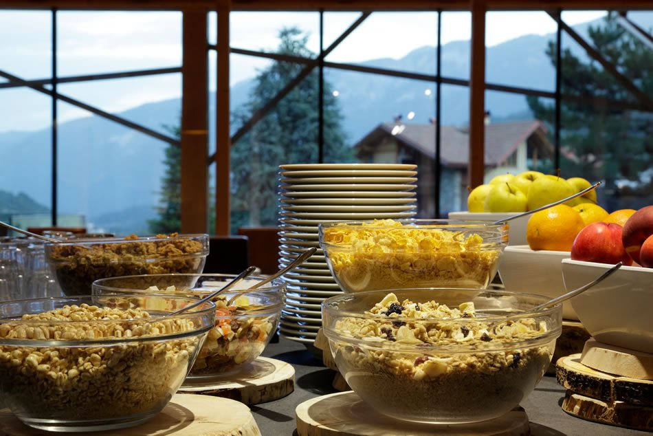 Albergo Salvadori - Sala colazione